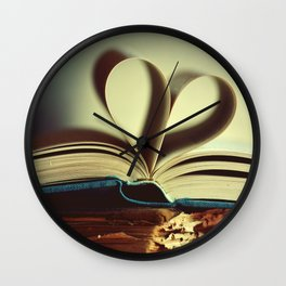 Old Story Wall Clock