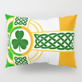 Celtic Irish Flag Pillow Sham