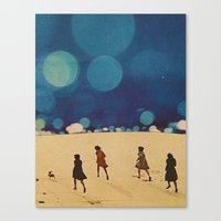 sci fi Canvas Prints featuring  Sci-Fi...Kids... by Hugo Barros