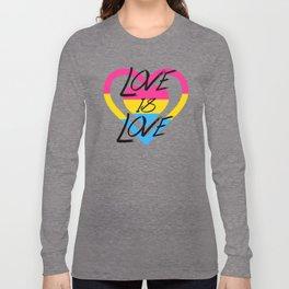 Love Is Love - Pan Pride Long Sleeve T-shirt