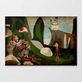 Farwells Canvas Print