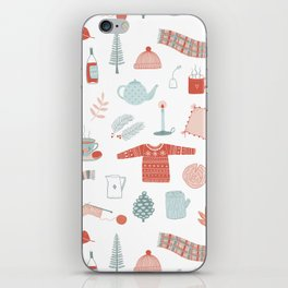Hygge Cosy Things iPhone Skin