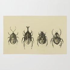 Beetle Morphology Rug