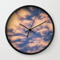 shadow Wall Clocks featuring shadow  by Alexandra Bauer