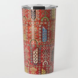 Shirvan Caucasian Antique Carpet Travel Mug
