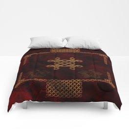 Celtic knote, vintage design Comforters