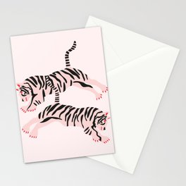 fierce females Stationery Cards