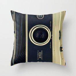 Old Polaroid iPhone Case Throw Pillow