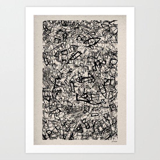 - newspaper - Art Print
