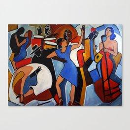 One Last Tango Canvas Print