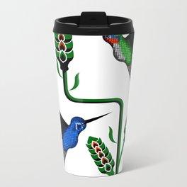 Geohummingbirds Metal Travel Mug