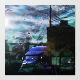 Seaweed Trucking Canvas Print
