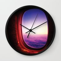 aperture Wall Clocks featuring aperture by Gray