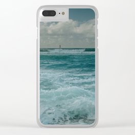 Hookipa Maui North Shore Hawaii Clear iPhone Case