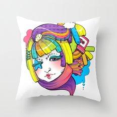 Starry Eyed Throw Pillow