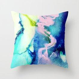 Rosa Caelum Throw Pillow