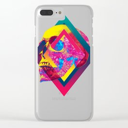 Lifeful Skull Clear iPhone Case