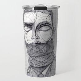 Alisa Ahmann by Txema Yeste - Artist: Leon 47 ( Leon XLVII ) Travel Mug