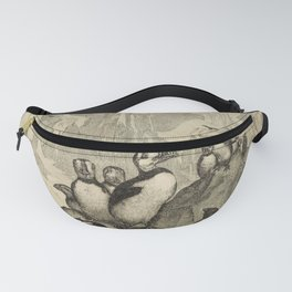 Naturalist Penguin And Puffin Fanny Pack