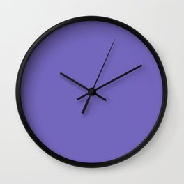 Blue-Violet (Crayola) -solid color Wall Clock