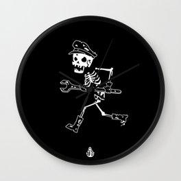 Miss Peregrine skeleton 2 Wall Clock