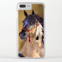 HORSE - Dreamweaver Clear iPhone Case