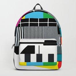 Tv Color Test Backpack