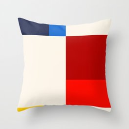 Mid Century Modern Vintage 19 Throw Pillow