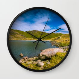 When time stops - Snowdonia, Wales Wall Clock