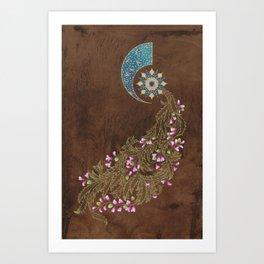 Cercis siliquastrum Art Print