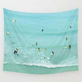 Surfing vintage. Summer dreams Wall Tapestry