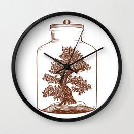 Bonsai Potion Wall Clock