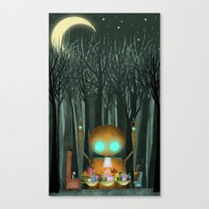 Party of Unusual Things Canvas Print