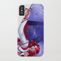 utena iPhone & iPod Cases featuring Duelist by franzkatter