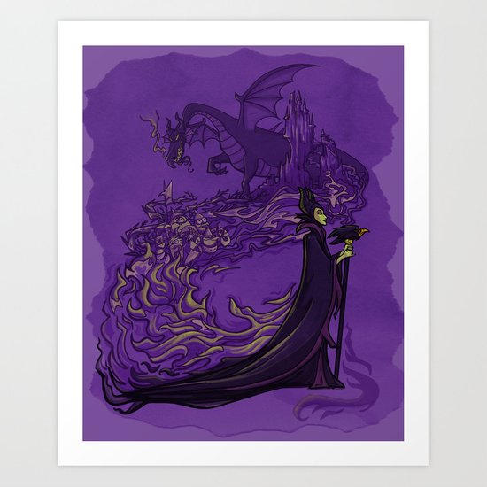 Something Wicked this way Comes... Art Print