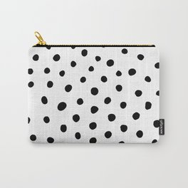 Painted Dots Carry-All Pouch