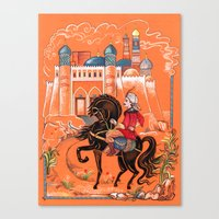arab Canvas Prints featuring Arab Prince by Elina_Ch