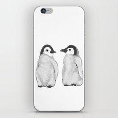 Penguin Talk iPhone & iPod Skin