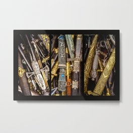 Collage - Daggers, Dirks and Sabres Metal Print
