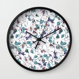 Physalis Wall Clock