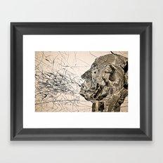 Penser : Expression. Framed Art Print