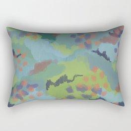 Mossy flossy Rectangular Pillow