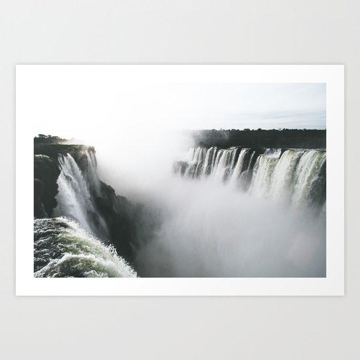 Iguazu Falls V Art Print