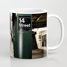 Speeding Subway Train Coffee Mug