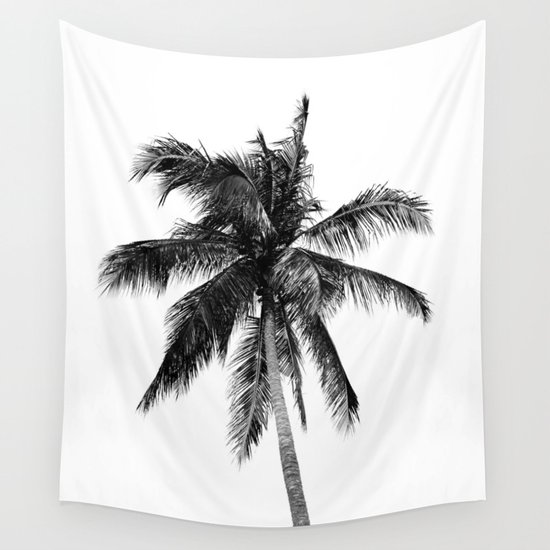 Palm Tree | Black and White by jackyd