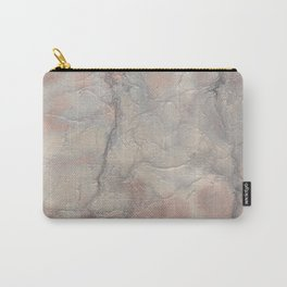 Marbled Structure 5A Carry-All Pouch