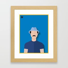 Don Ramón Framed Art Print