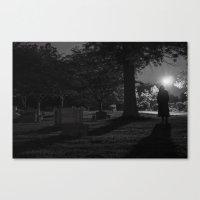 noir Canvas Prints featuring Noir by Derek Donovan