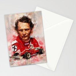 Niki Lauda Stationery Cards