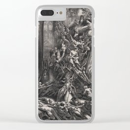 Witches' Sabbath by Louis Boulanger, 1835 Clear iPhone Case
